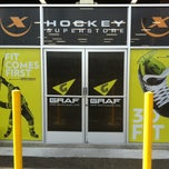 Photo taken at Hockey X Superstore by Brent H. on 4/19/2013
