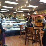 Photo taken at Francoisa Bakery by Brittany D. on 11/19/2014