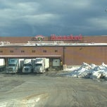 Photo taken at Hannaford Distribution Center by Becky on 12/30/2013