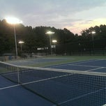 Photo taken at Fair Oaks Tennis Center by Pimpen_ken J. on 9/12/2013