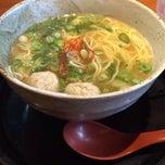 Photo taken at らー麺 藤吉 平野店 by SLiC T. on 2/5/2014