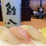 Photo taken at 鮨八 by Natsuko K. on 7/16/2014