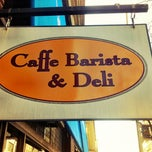 Photo taken at Cafe Barista & Deli by Justin W. on 11/8/2012