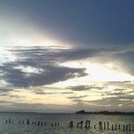 Photo taken at Pantai Bahari Polewali by Ferry S. on 8/10/2014