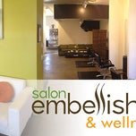 Photo taken at salon embellish by salon embellish on 9/18/2013