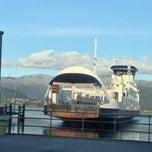 Photo taken at Ranavik fergekai by Hakon T. on 9/27/2013