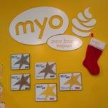 Photo taken at Myo Pure Frozen Yogurt by Sammy C. on 12/23/2014