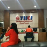 Photo taken at TIKI (Titipan Kilat) Manado by Pingkan P. on 11/19/2013