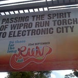 Photo taken at Wipro Corporate Office‎ by Vinod Kumar M. on 9/18/2013