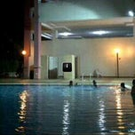 Photo taken at Sutramas Apartment Swimming Pool by azfar a. on 10/26/2013