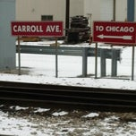 Photo taken at South Shore: Carroll Ave by Courtney W. on 12/31/2012