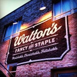 Photo taken at Walton's Fancy and Staple by Joey M. on 5/10/2013