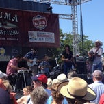 Photo taken at Sonoma-Marin Fairgrounds & Event Center by Mike H. on 8/2/2014