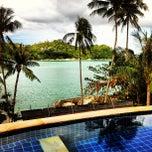 Photo taken at Panviman Resort Koh Phangan by Paul L. on 11/18/2012