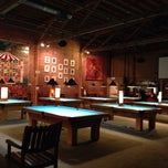 Photo taken at South First Billiards by Antonio R. on 10/22/2013