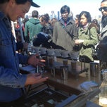 Photo taken at Blue Bottle @ Smorgasburg by stacey l. on 4/6/2013