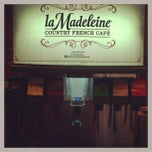 Photo taken at La Madeleine by Dave F. on 8/10/2013