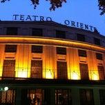 Photo taken at Teatro Oriente by Rodrigo M. on 5/16/2014