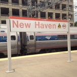 Photo taken at New Haven Union Station by Eileen O. on 6/25/2012
