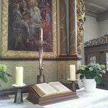 Photo taken at Evangelische Kirche Sulzbach/Ts by A.K. L. on 2/26/2012