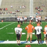 Photo taken at Guilford Stadium by Veronica T. on 8/25/2012