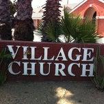Photo taken at Village Church by Carol 'Red E. on 7/16/2012