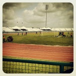 Photo taken at Larry Gomes Stadium by Johnny H. on 6/2/2012