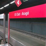 Photo taken at RENFE El Clot-Aragó by Hector s. on 12/8/2012