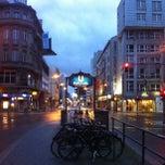 Photo taken at H Kochstr./Checkpoint Charlie by Franz C. on 6/14/2013