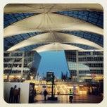 """Photo taken at München Flughafen """"Franz Josef Strauß"""" (MUC) by Abdullah Y. on 3/16/2013"""