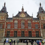Photo taken at Station Amsterdam Centraal by Jeannette C. on 6/14/2013