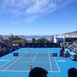 Photo taken at Hobart International Tennis Centre by Allyson W. on 1/9/2014