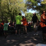 Photo taken at YAI Central Park Challenge by Andrew G. on 6/7/2014