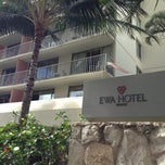 Photo taken at Ewa Hotel Waikiki by @MiwaOgletree on 1/3/2013