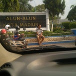 Photo taken at Alun Alun Kota Madiun by Nuran H. on 12/1/2013