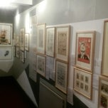Photo taken at The Cartoon Museum by Reha B. on 8/28/2014