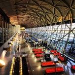 Photo taken at 関西国際空港 (Kansai International Airport - KIX/RJBB) by Sherwin S. on 6/21/2013