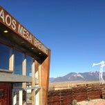Photo taken at Taos Mesa Brewing by Chris on 11/26/2012