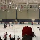 Photo taken at Labrador City Arena by Farrah S. on 4/15/2014