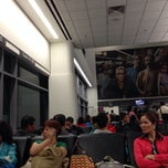 Photo taken at Gate A7 by Tracy C. on 10/20/2013