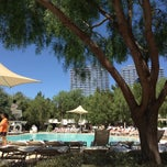 Photo taken at Aria Pool & Cabanas by Jonas M. on 5/26/2013