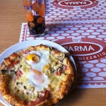 Photo taken at Pizzeria Parma by Janez C. on 10/19/2012