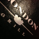 Photo taken at London Grill by Todd P. on 11/17/2012