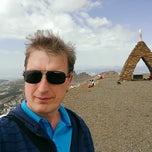 Photo taken at Monumento a la Virgen de las Nieves by Willem v. on 4/15/2014