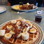 Photo taken at Country Waffles by Amanda on 9/16/2013