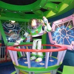 Photo taken at Buzz Lightyear Astro Blasters by Chris K. on 7/22/2013