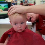 Photo taken at Kids' Hair by Kaja S. on 8/30/2013