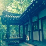Photo taken at 칠갑산자연휴양림 by Sunhwa H. on 5/5/2014