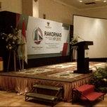 Photo taken at Alamanda Ballroom Imperial Aryaduta by Fiser Putra E. on 3/30/2015