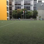 Photo taken at Bina bangsa school stadium by J3f H. on 2/23/2013